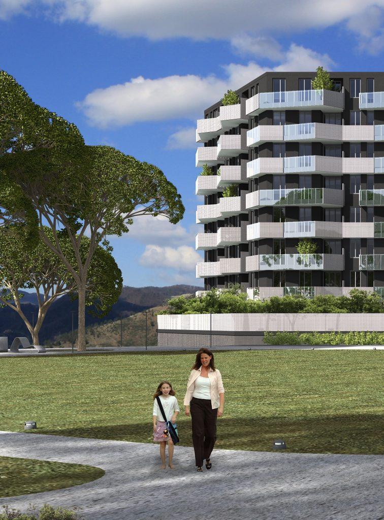 Progetto Parco Urbano di Genova Erzelli