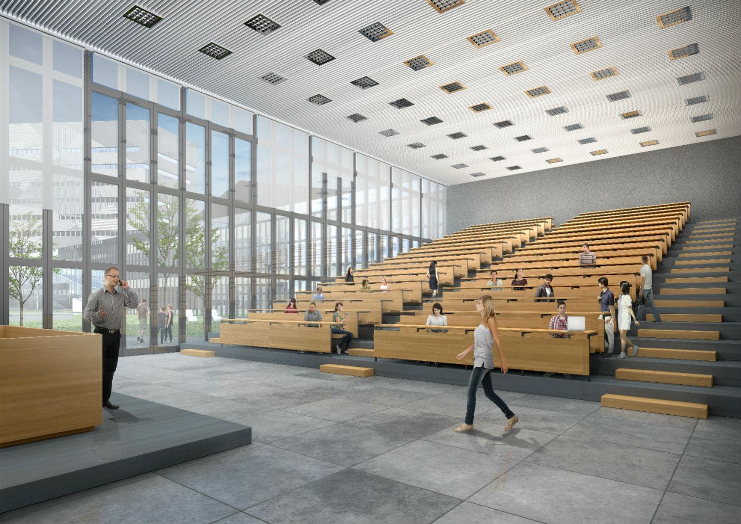 Università di Genova - Facoltà di Ingegneria - La Corte - GREAT Campus