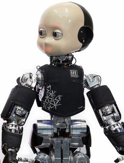 iCub robot dell'Istituto Italiano di Tecnologia
