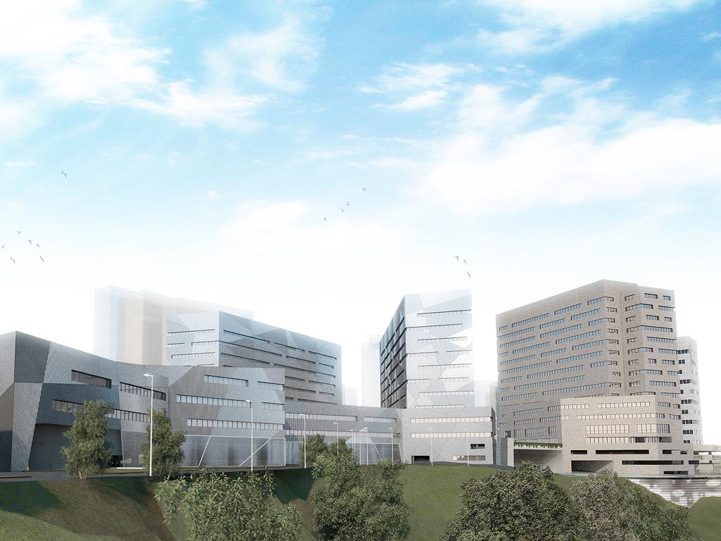 Università Genvova - Facoltà Ingegneria - GREAT Campus -il parco