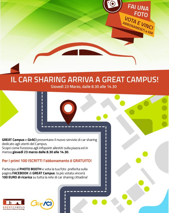 Car sharing a great campus