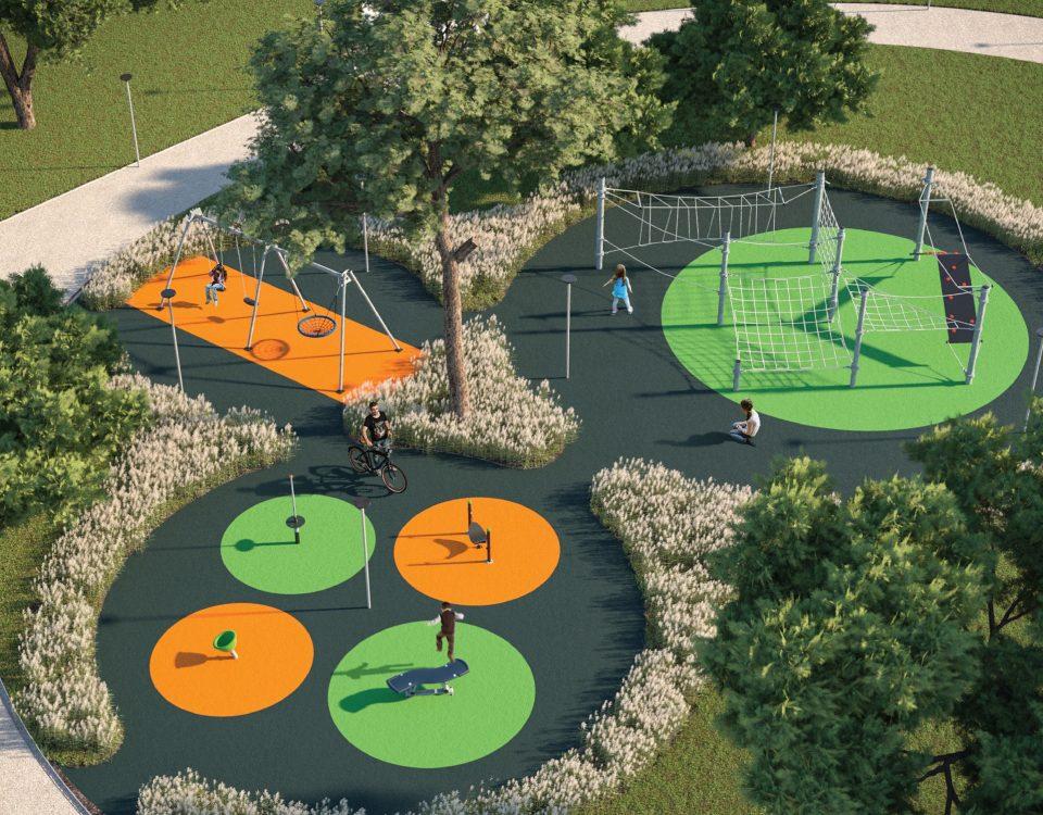 Area Giochi Parco Verde