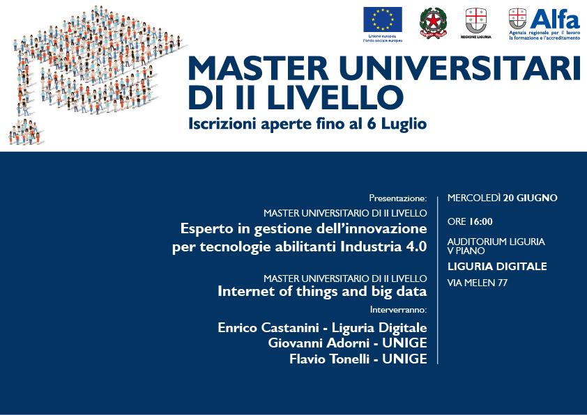 master università di Genova