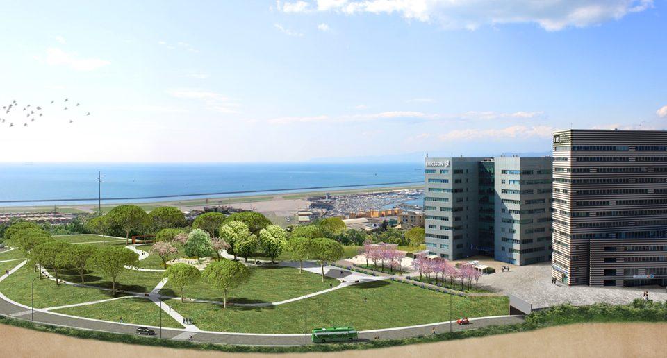 Lavori Parco Verde GREAT Campus